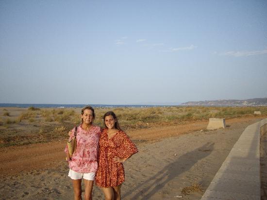 Iberostar Saidia: Paseo de la playa