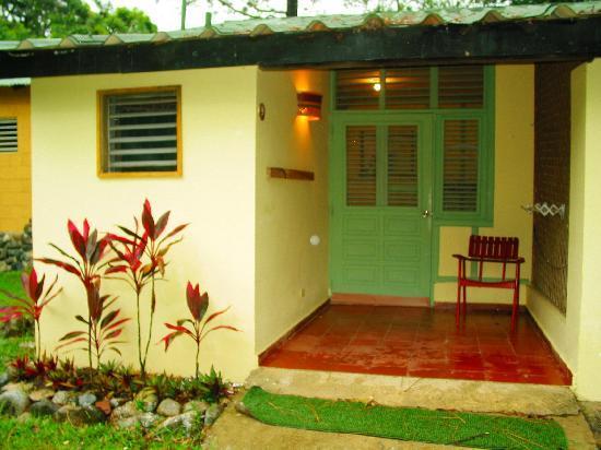 Rancho Baiguate: chambre simple avec une belle petite terrasse