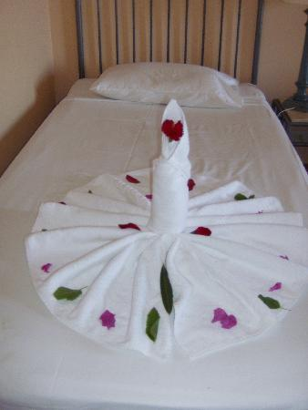 Sol Y Mar Makadi Sun: Towel art!