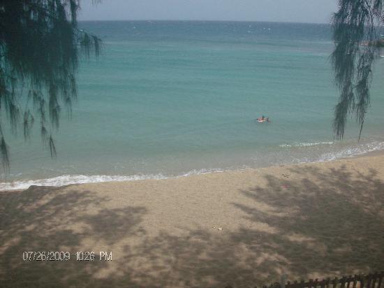 Parador Villas del Mar Hau: vista desde el balcon