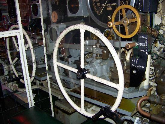 USS Pampanito: control room