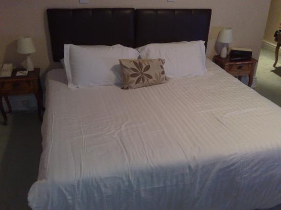 Foley Arms Hotel: The hard bed!