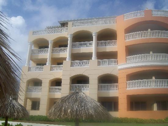 Iberostar Rose Hall Suites: Our room was third floor, third in from left