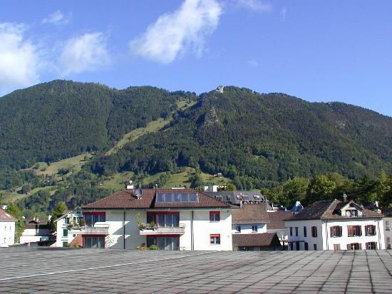 Seehotel Waldstaetterhof Brunnen : Blick aus dem Zimmer