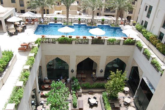 Manzil Downtown Dubai: The view from our room