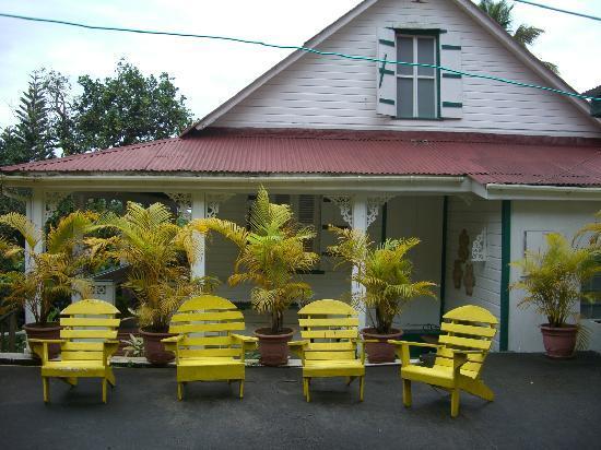 La Dauphine Estate : La Dauphine back yard