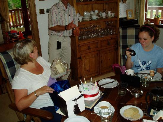 Great Glen Bed and Breakfast: BIRTHDAY REMEMBERED BY THE GREAT GLEN