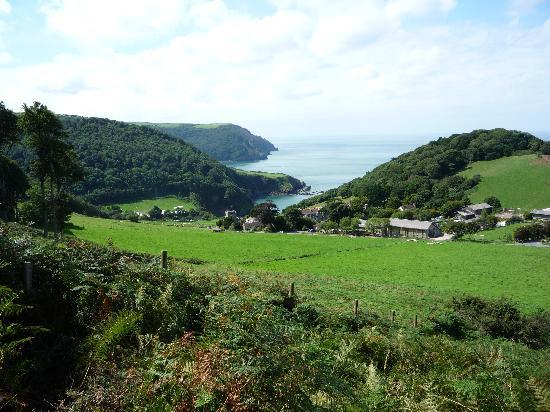 Valley of the Rocks: Lee Bay