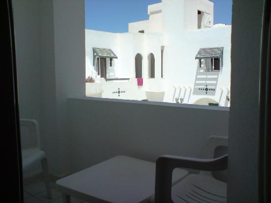 Hotel El Machrek: Sweet little balcony