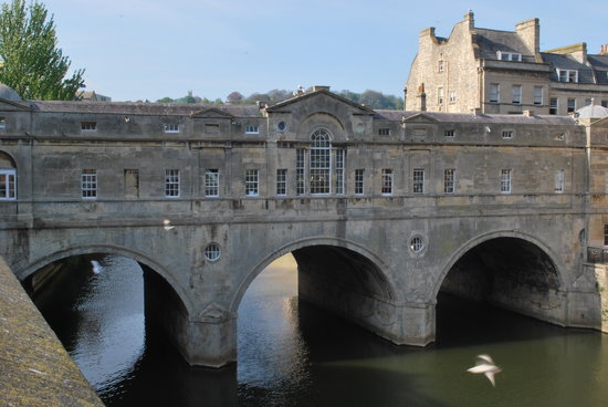 Бат, UK: Pulteney Bridge, Bath, England