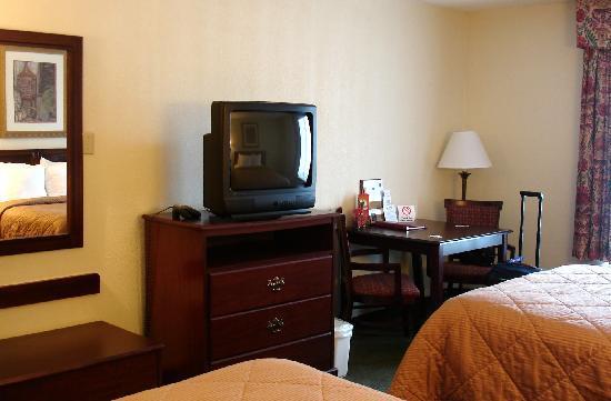 Quality Inn Medical Park: room # 409, non smoking Floor