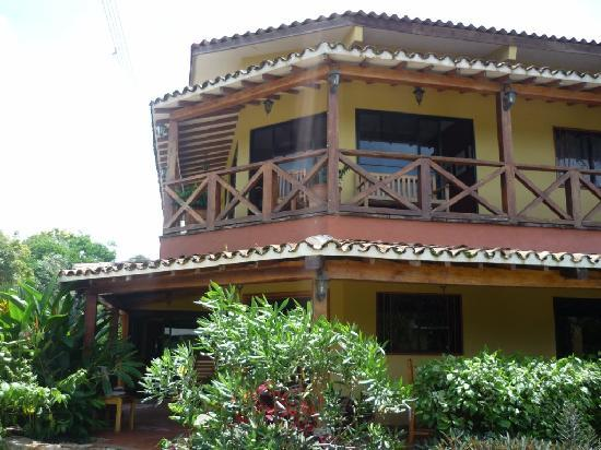 Casita Margarita: The hotel, from the main street of Pedasi
