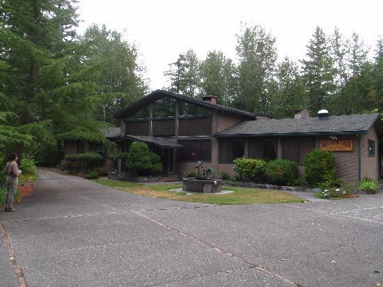 Anderson Creek Lodge : Outside entry
