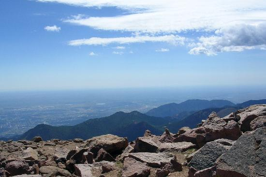 Pikes Peak: More scenery from the peak