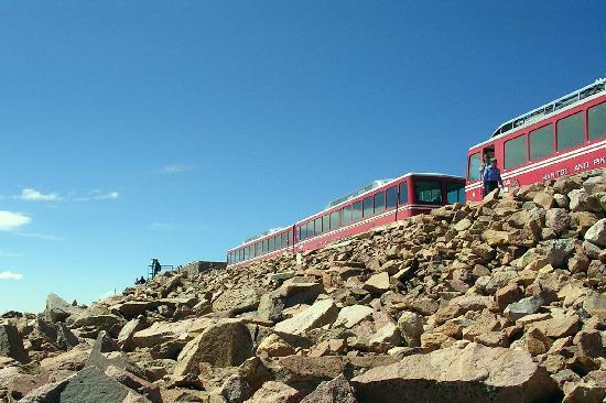 Pikes Peak: The train