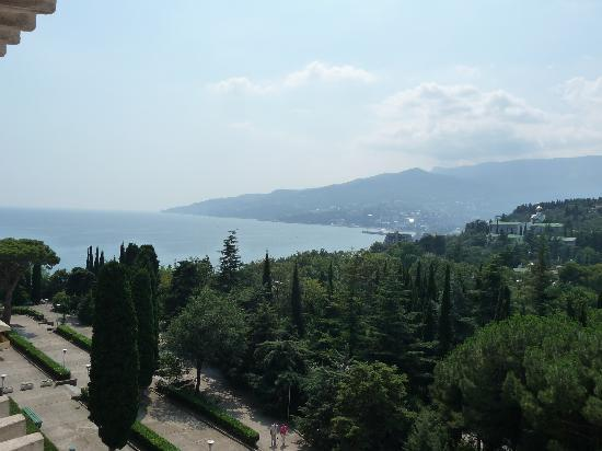 Yalta Intourist Hotel: View from Hotel