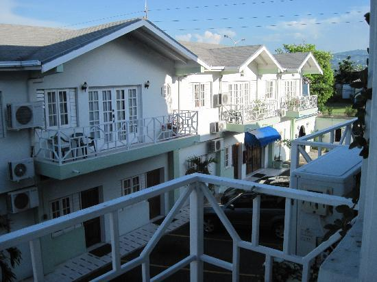 Christar Villas: view from balcony