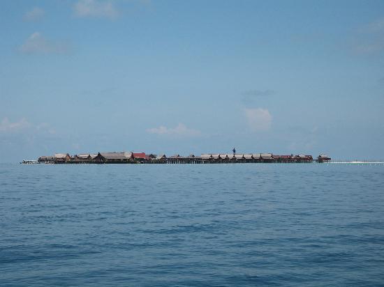 Sipadan Kapalai Dive Resort : Le resort