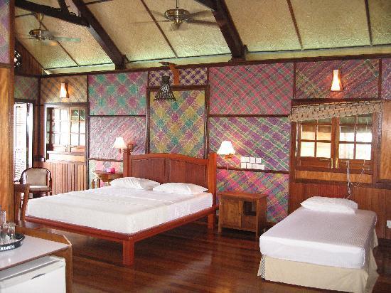 Sipadan Kapalai Dive Resort : Intérieure de la chambre
