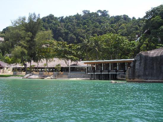 Pangkor Laut Resort: arrivee a l hotel