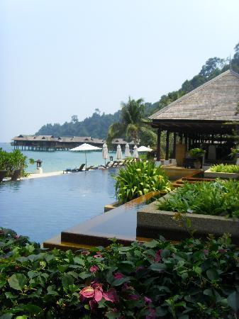 Pangkor Laut Resort: l'une des deux merveilleuses piscine