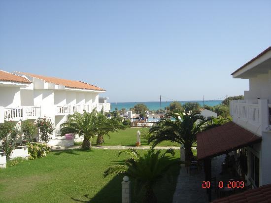 Chryssana Beach Hotel: Room view