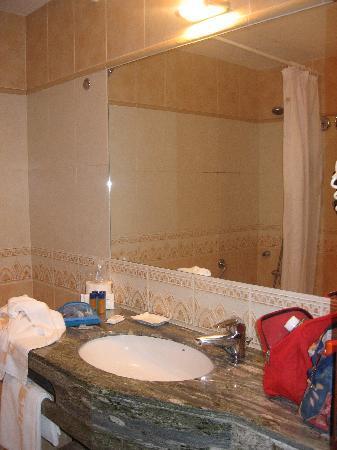 Hotel Rosa : Foto bagno stanza