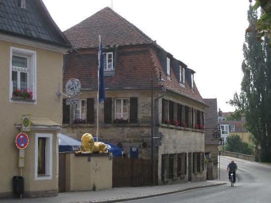 """Gasthof Goldener Loewe: Gasthof """"Goldener Löwe"""" in Bayreuth"""