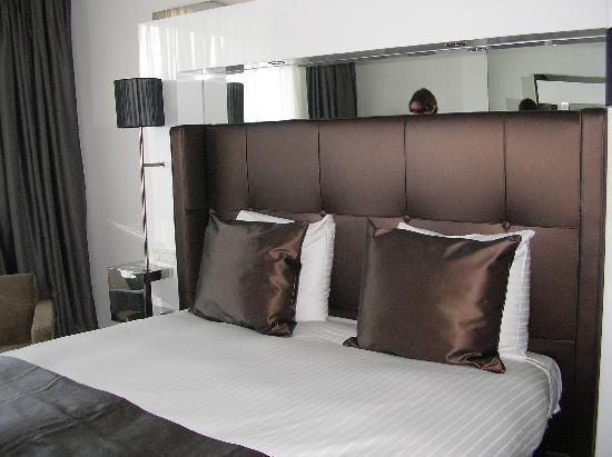 WestCord Fashion Hotel Amsterdam: la camera matrimoniale