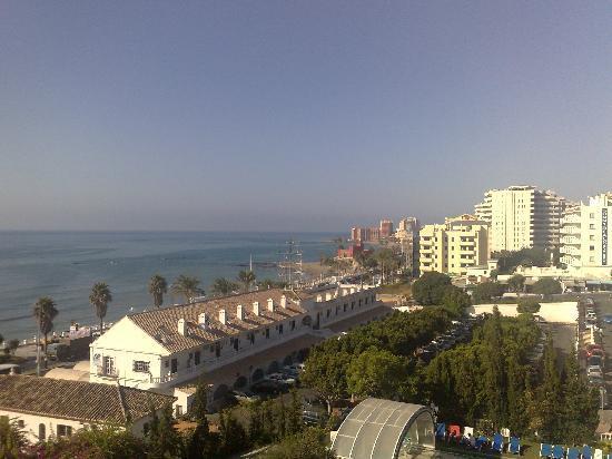 Palia La Roca Hotel-Club: View to the left of my room