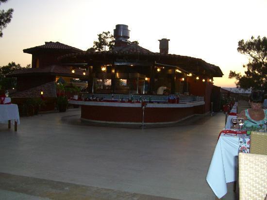 TUI SENSIMAR Marmaris Imperial Hotel: roof-top Turkinsh 'a la catre' restaurant