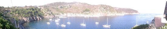 Capraia Isola, Italia: Vista dall'hotel