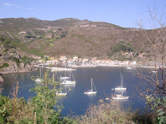 Capraia Isola, Italy: Vista dall'hotel 2