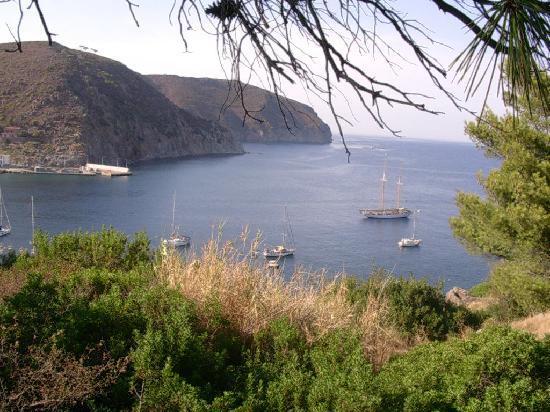 Capraia Isola, Italy: Vista dalla mia camera