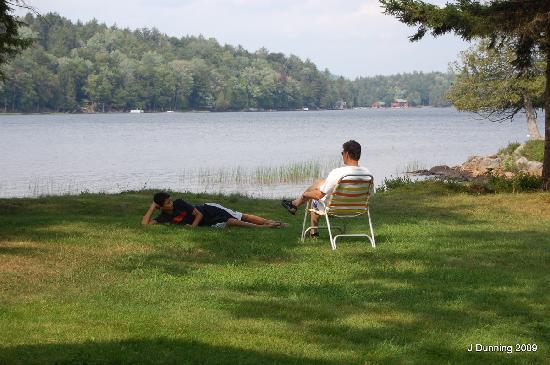 Covewood Lodge: Father an Son Moment