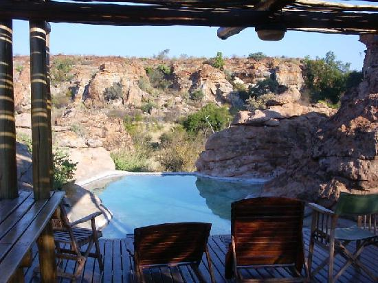 Mapungubwe National Park, Sør-Afrika: swimming pool