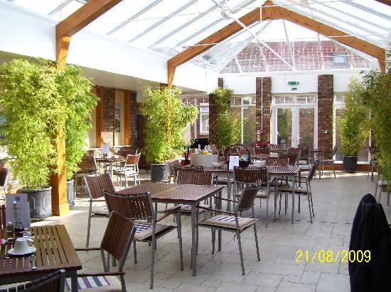 Blue Bell Hotel: The Courtyard