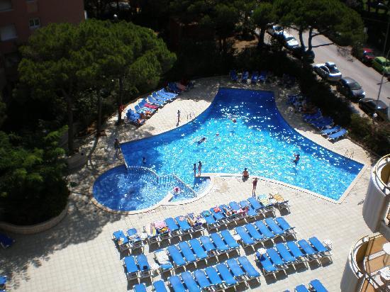 Hotel Blaumar: la piscine