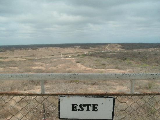 Parque Ecologico Palo Santo: view east from the tower