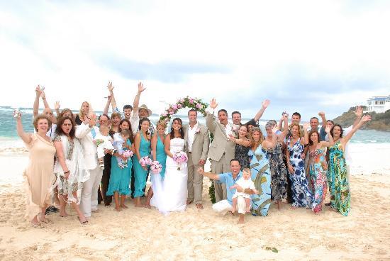 The Westin Dawn Beach Resort Spa St Maarten Destination Wedding