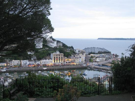 Maycliffe Hotel: View of harbour from top of steps