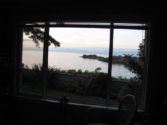 Hammond Bay Oceanside Bed & Breakfast: view from living room window