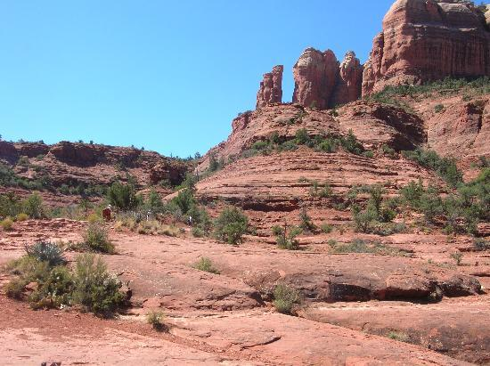 Cathedral Rock: On the way up