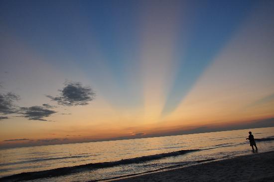 Cape San Blas : Beautiful sunset