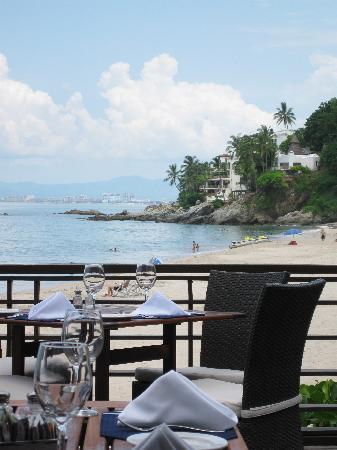 Hyatt Ziva Puerto Vallarta: View from Seaside Grill.