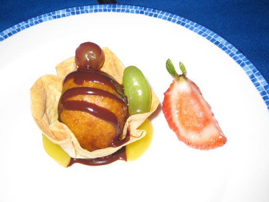Hyatt Ziva Puerto Vallarta: Fried ice cream at Oceana.