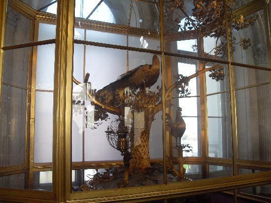 พิพิธภัณฑ์เฮอร์มิทาจและพระราชวังฤดูหนาว: The peacock clock