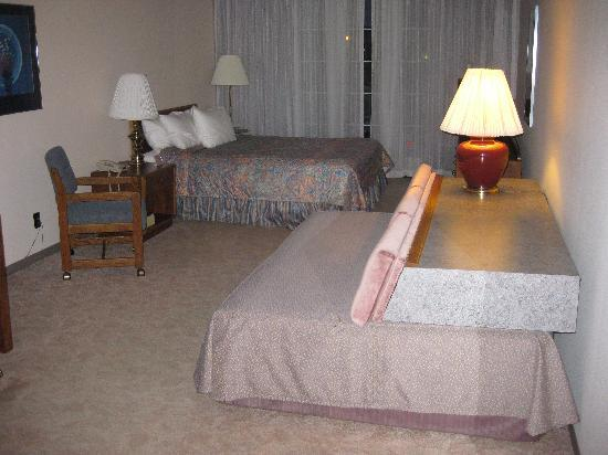 The Voyager Inn: Spacious Bedroom