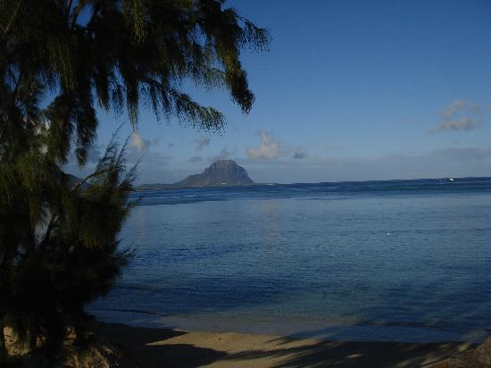 Le Morne Mountain from our Balcony