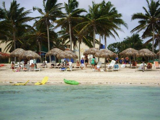 Playa Santa Lucia, Cuba: beach